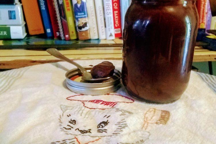 Hot fudge in a jar